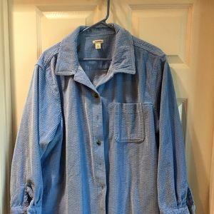 LL BEAN XL corduroy shirt/jacket